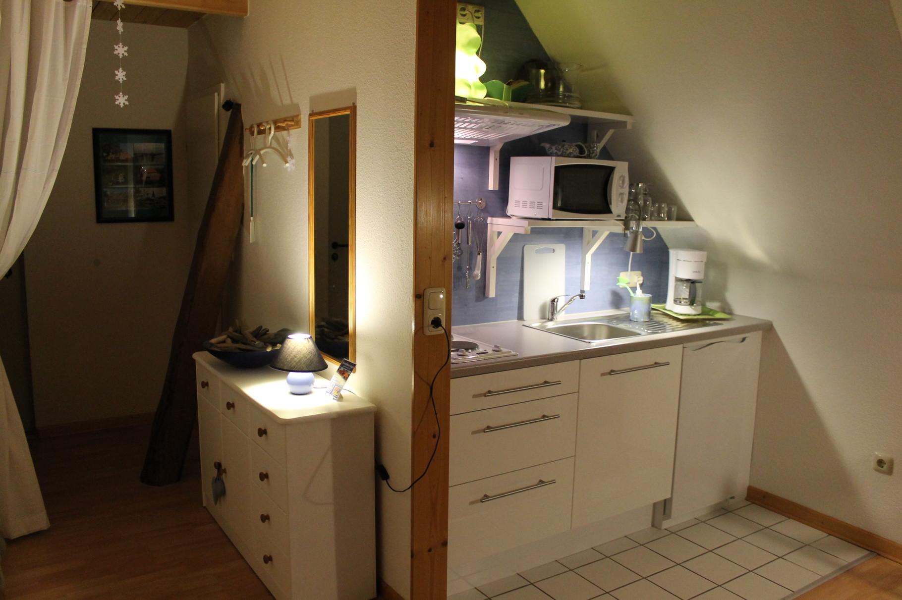 Wohnung 1, Küche, Flur