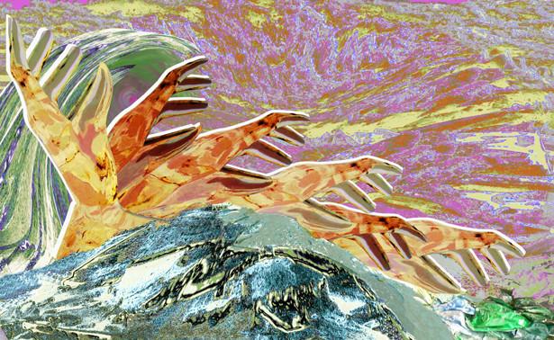 Mer de glace, composition numérique, 2011