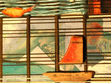 Réchauffement climatique (détail), 75 x 50 cm, France 2002.