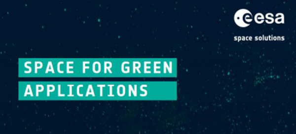 ESA: Space for Green Applications