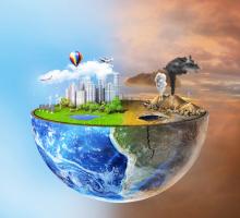ESA fördert Raumfahrtanwendungen zur Überwachung und Reduzierung der Luft-, Wasser- und Bodenverschmutzung