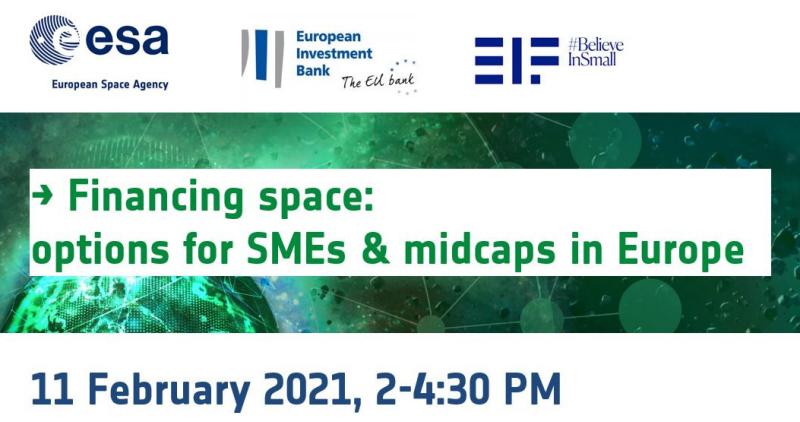 ESA Online-Webinar: Financing Space