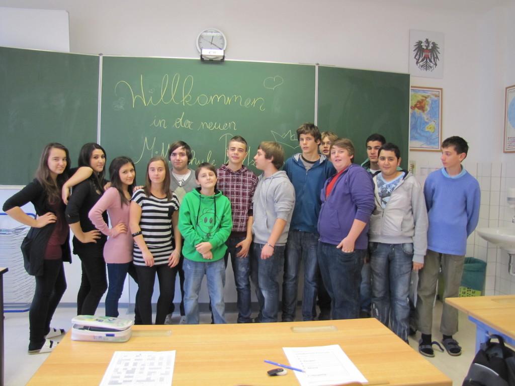 Freundliche Klassenräume