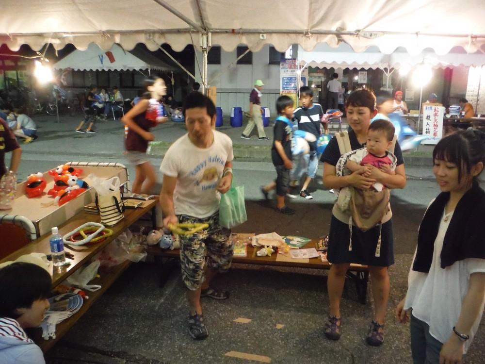 サマーフェスティバルは2回生の菅沼春香と三木智晴が主体となって企画を進めました。