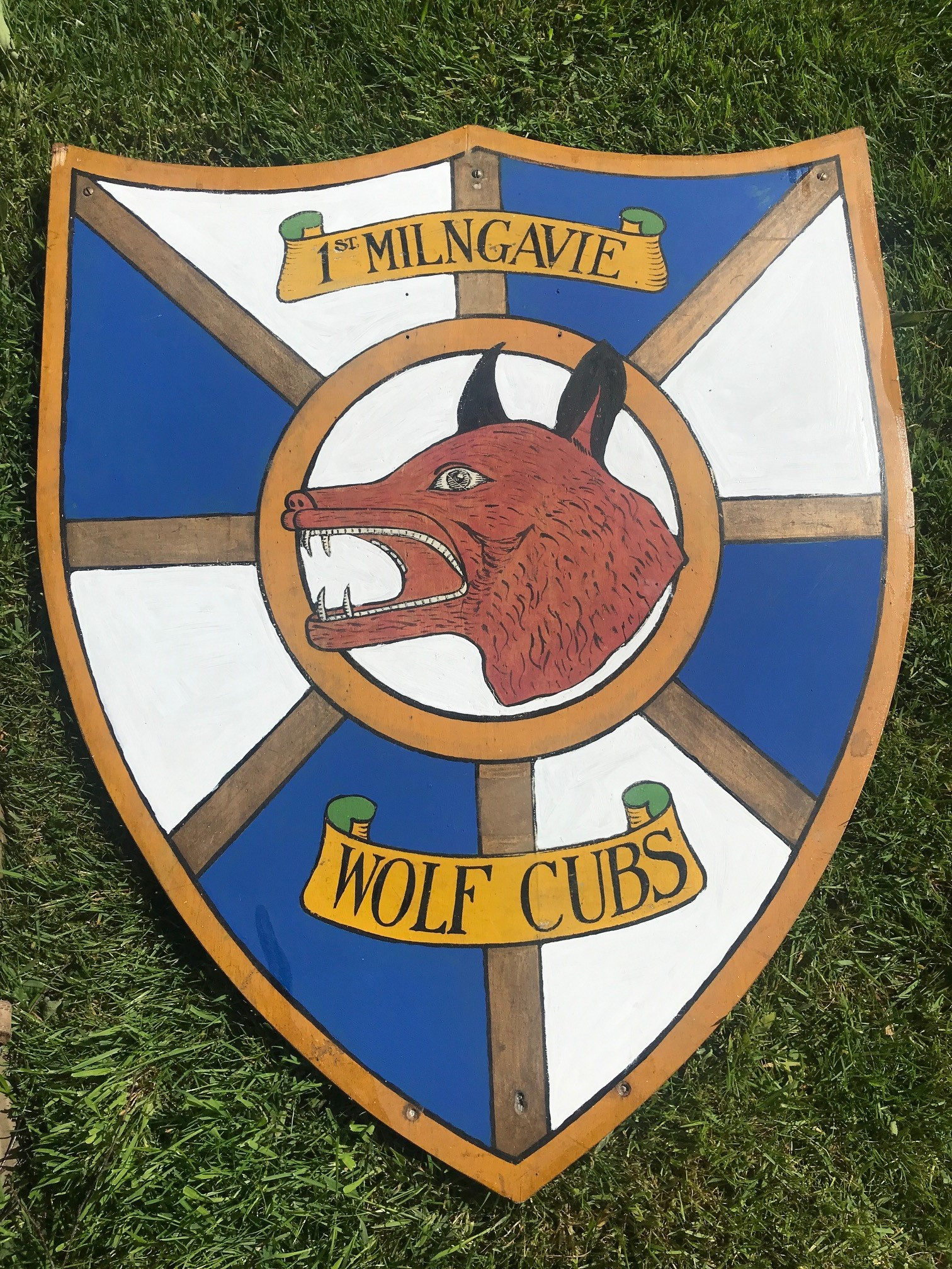 Wolf Cubs shield