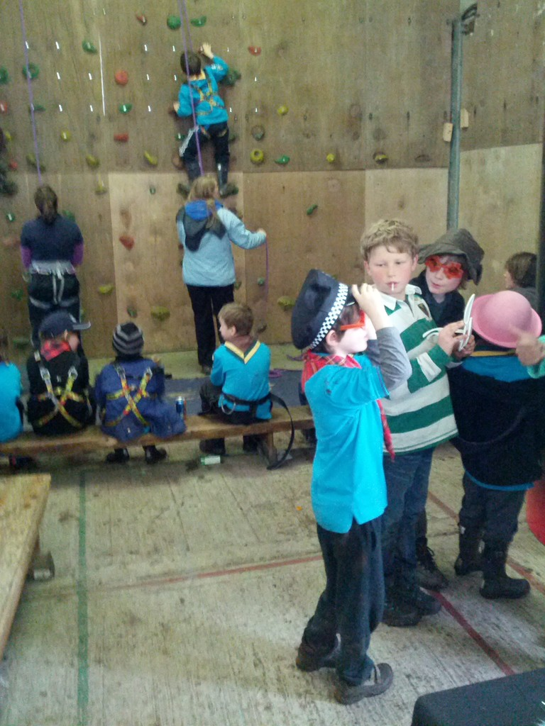 climbing for beavers and scouts