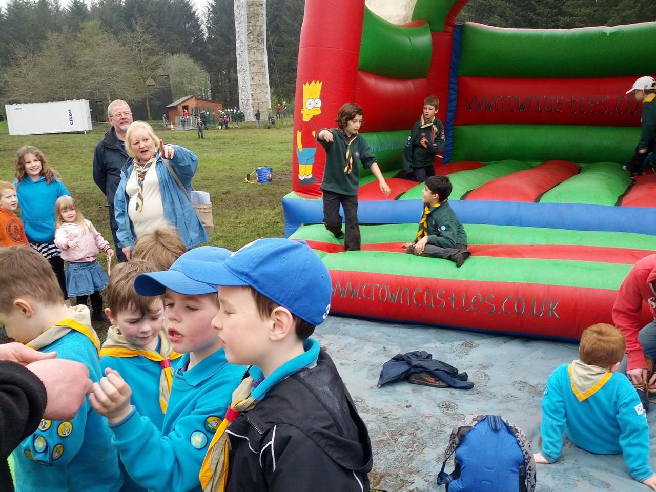 bouncy castle is always fun!