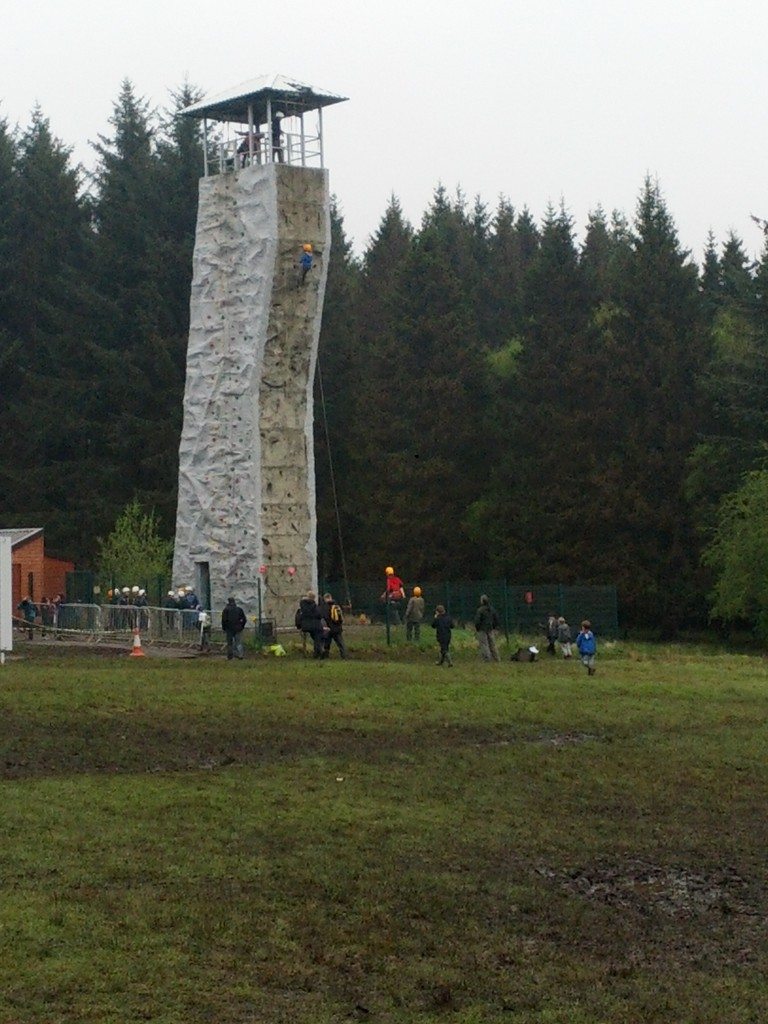 climbing wall for older children