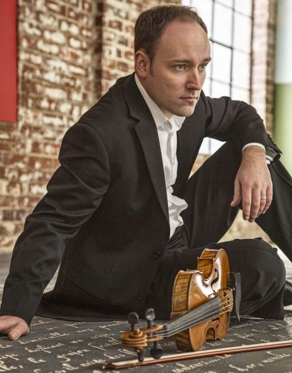 Violinist Christer Tepper