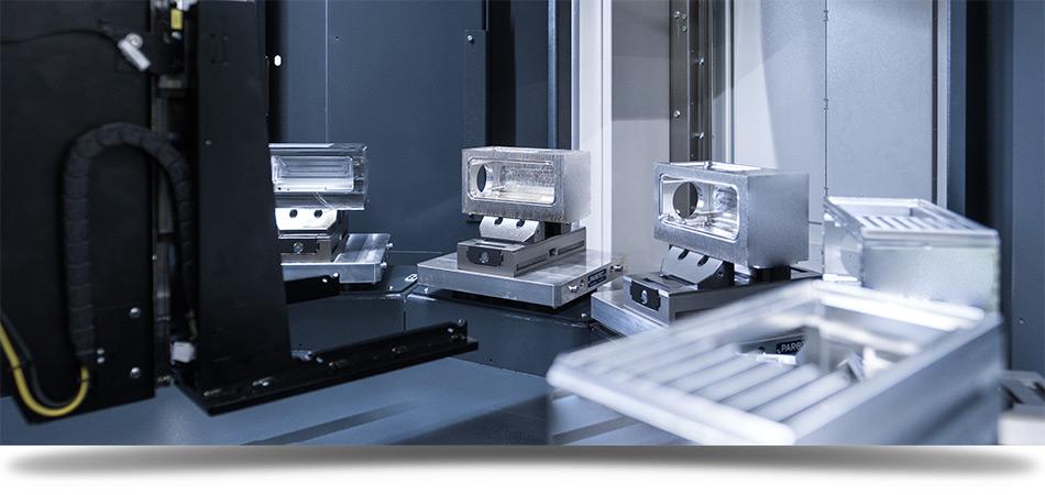 Fräsen mit Automation bei KMS Metall GmbH