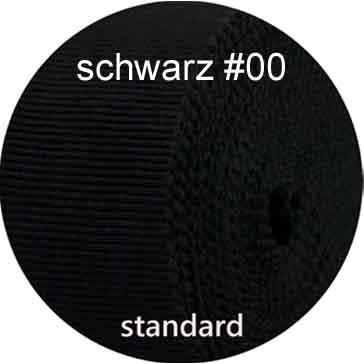 schwarz, Farbe nr. 00, standard