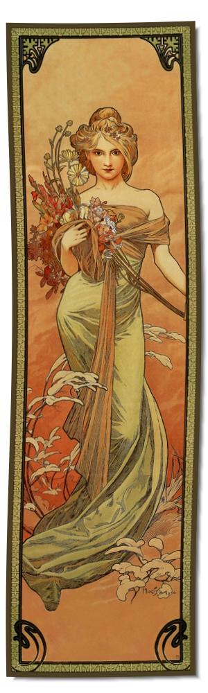 Artikel Nr. 2100 - Frühling (180 x 55 cm)