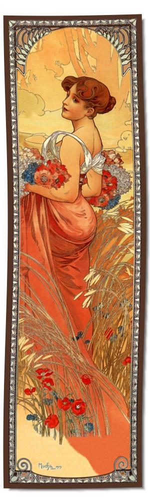 Artikel Nr. 2101 - Sommer (180 x 55 cm)