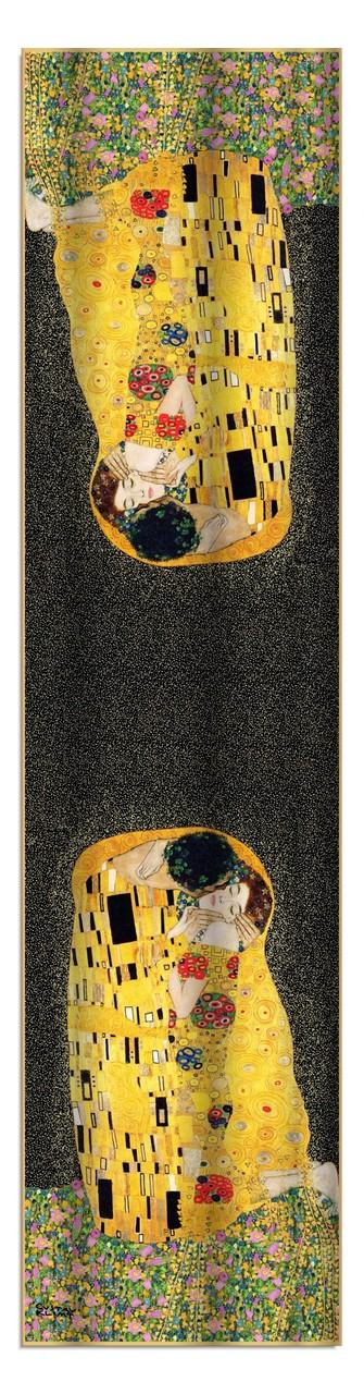 Artikel Nr. 2003 Der Kuss (schwarz) 172x42cm