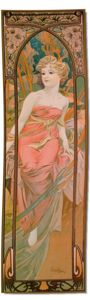 Artikel Nr. 2104 - Le Matin (180 x 55 cm)