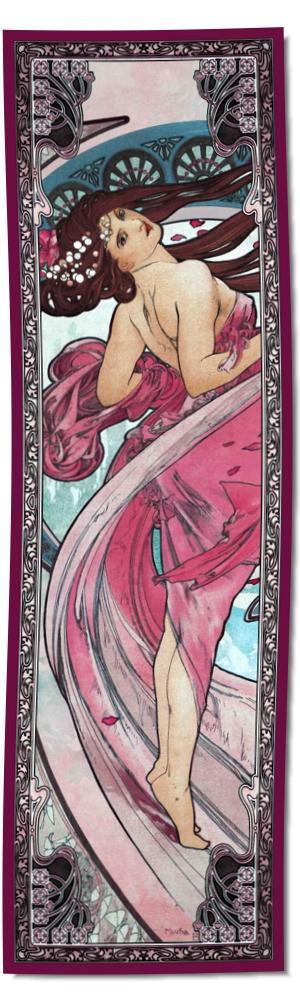 Artikel Nr. 2108 - La Danse rot (180 x 55 cm)