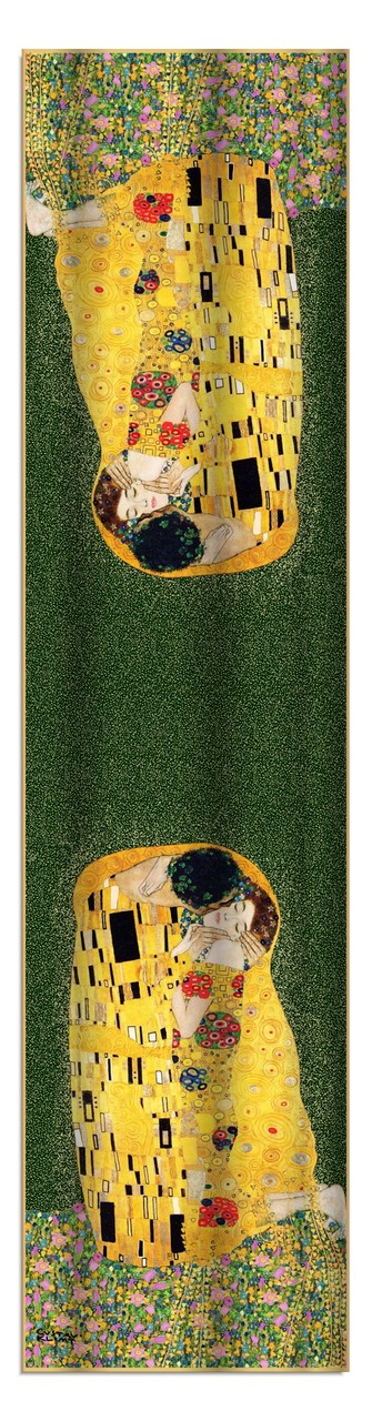 Artikel Nr. 2010 Der Kuss (grün) 172x42cm