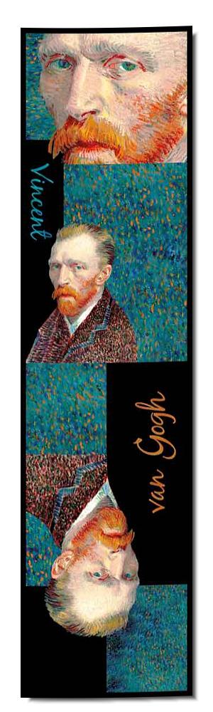 Artikel Nr. 2046 Selbstportrait/Chicago - van Gogh (180 x 45 cm)