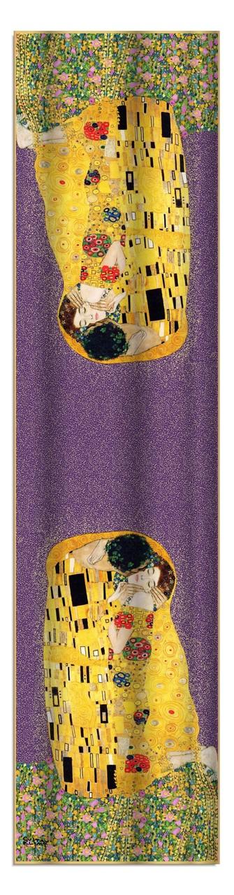 Artikel Nr. 2011 Der Kuss (violet) 172x42cm