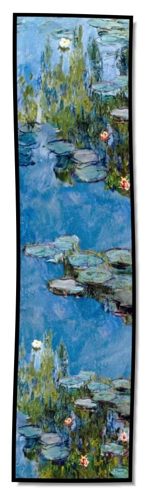 Artikel Nr. 2037 Seerosen II - Monet (175 x 46 cm)