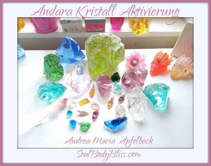 Zeitqualitäts Blessing Video mit Andara Kristallen