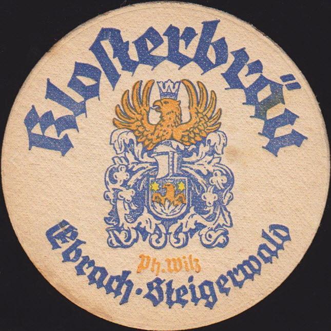 Welche Bierdeckel wurden im Vereinslokal 1950 verwendet?