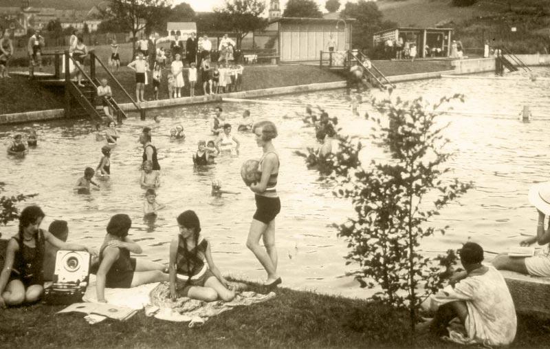 Wo schwamm der Ebracher in den 20ern?