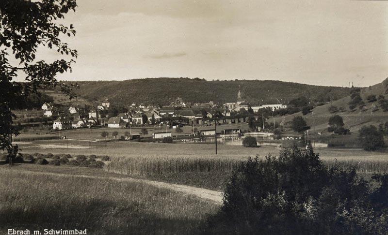 Wie sah das Gelände vom Sportplatz in den 1930ern aus?