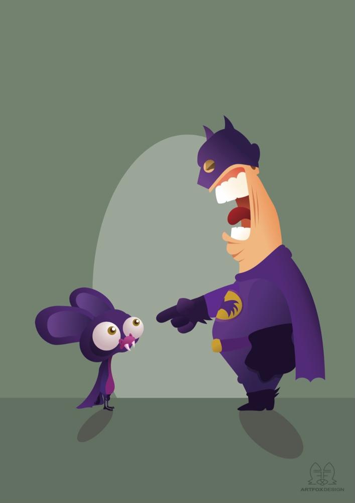 Bat and Man