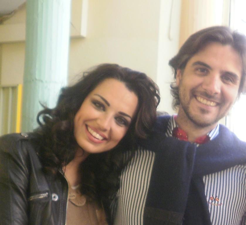 Sara Con Miguel Socio Y Colaborador Del Club