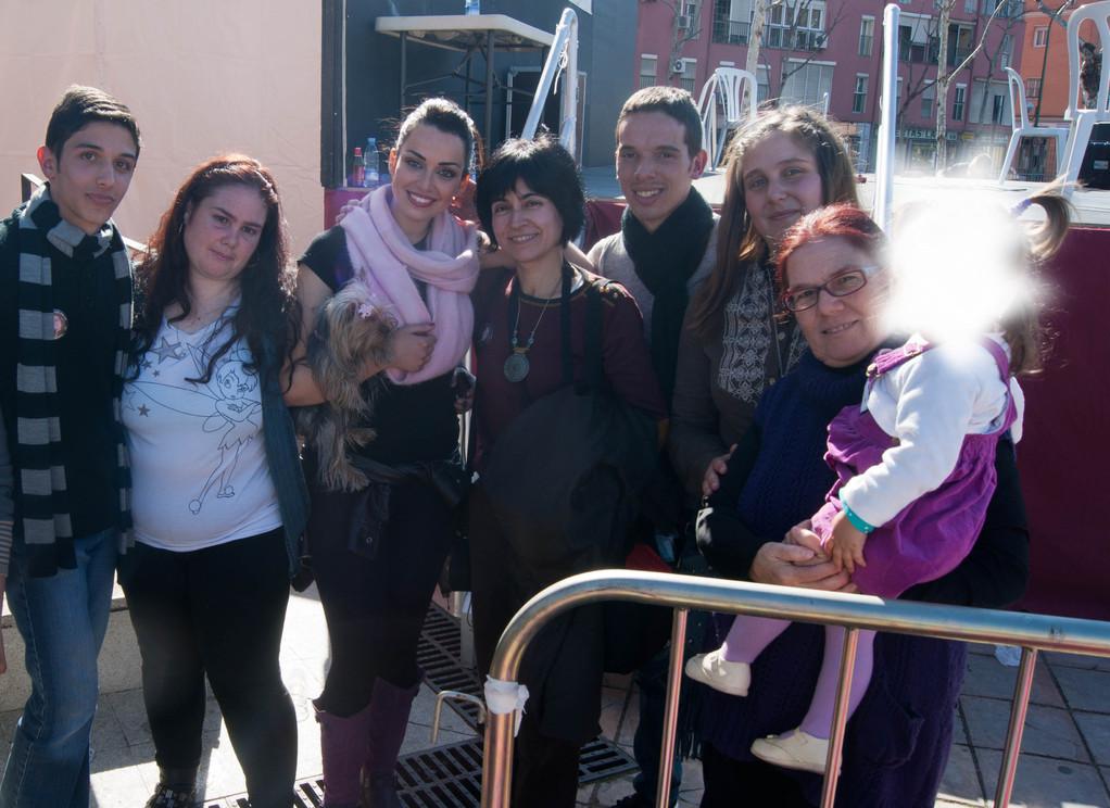 Todos Con Sara De La Cruz(Foto Grupo Club)