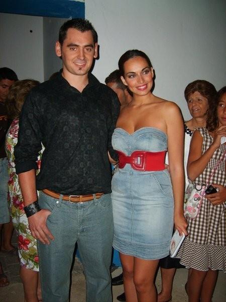 Daniel Jiménez Serrano y Sara De La Cruz