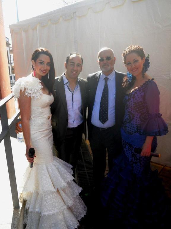 Sara de la Cruz, Abrahan Ruiz, Enrique Ramirez (AGE) y Carmen Abad