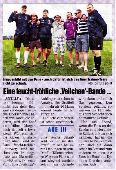 Chemnitzer Morgenpost 23.01.2014