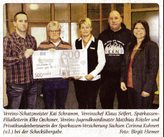 KKN unterstützt NSV beim Voting Dezember 2012