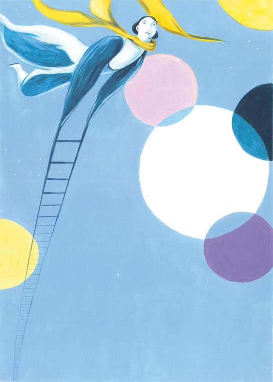 5ª edizione ◊ Partenza per lo spazio ◊ Festival Brocante - illustrazioni Sara Colautti