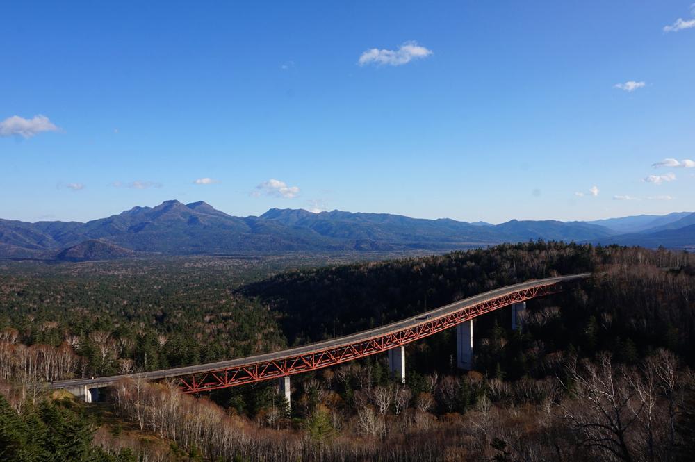 秋の三国峠