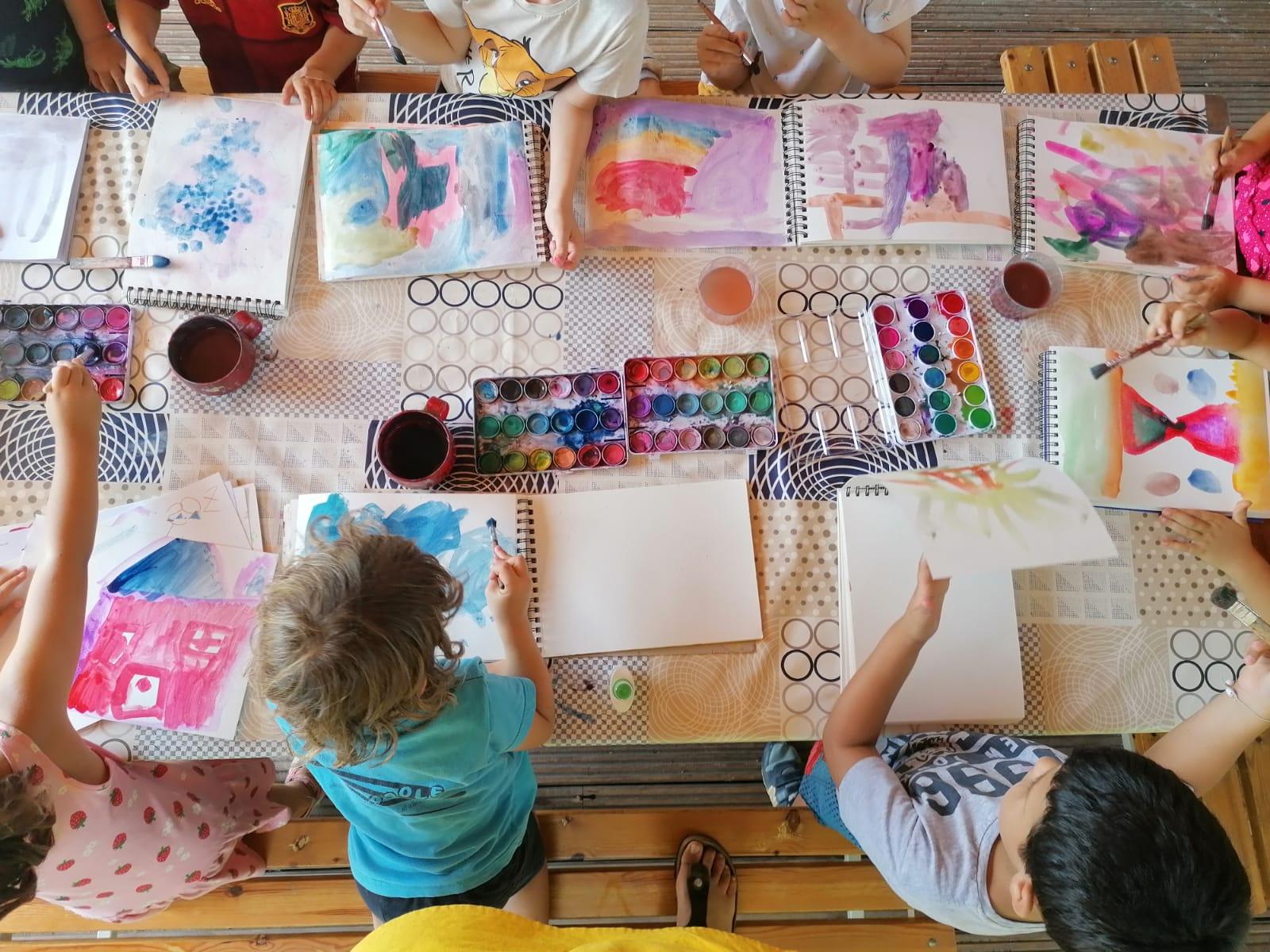 Pintura-Zona Infantil 03-05 años