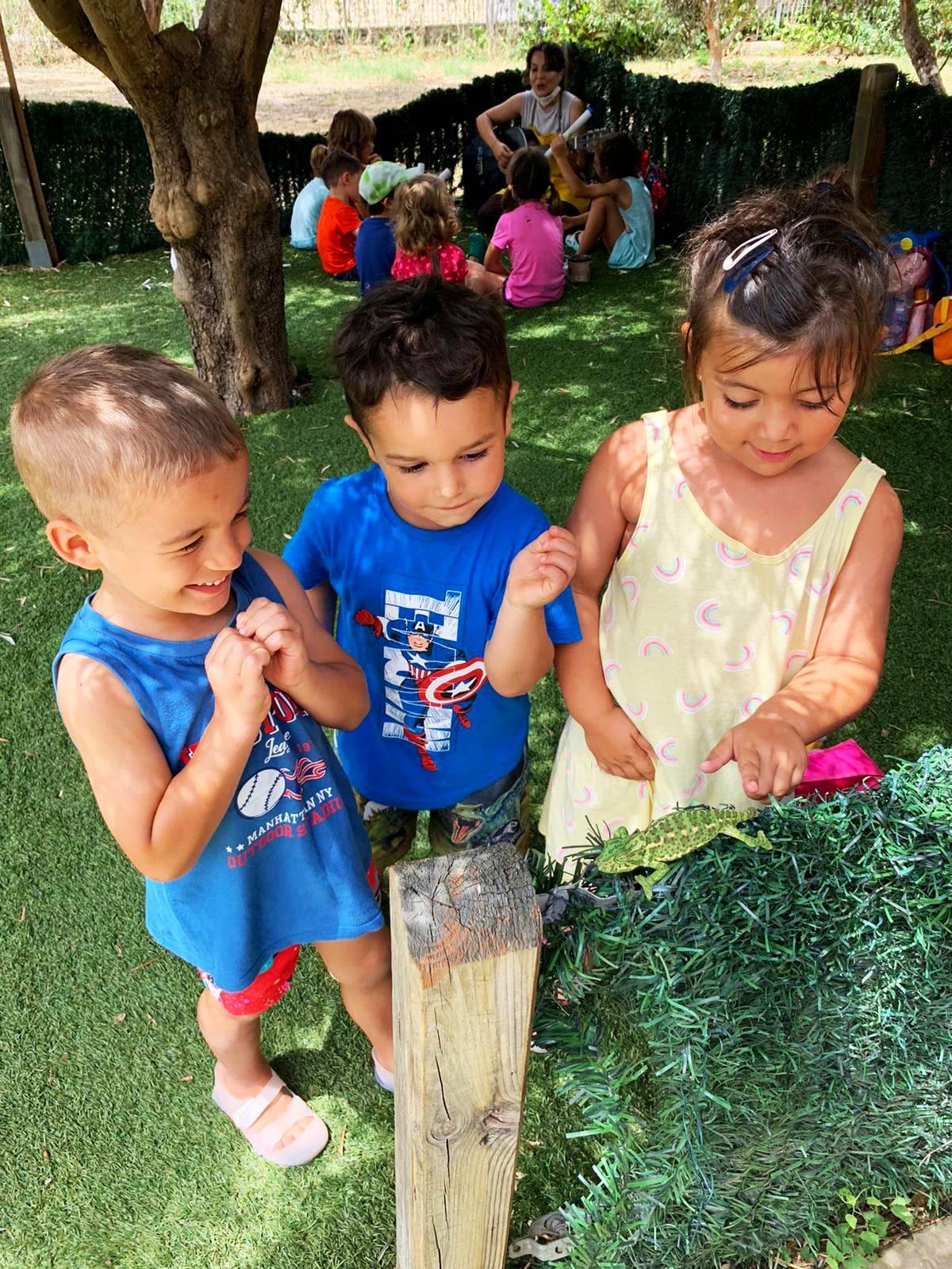 Naturaleza-Zona Infantil 03-05 años