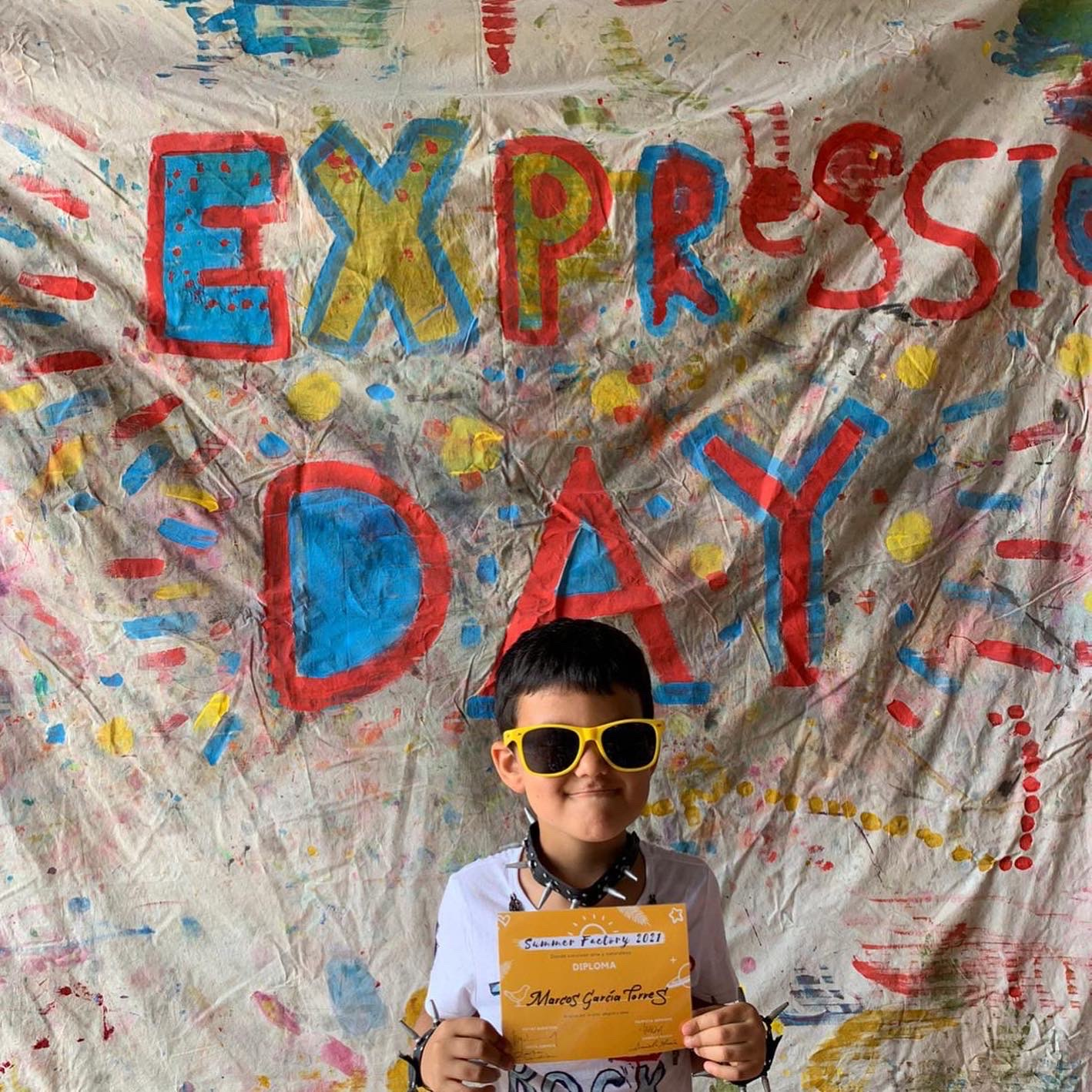 """Teatro: The Expression Day""""-Zona infantil 03-05 años"""