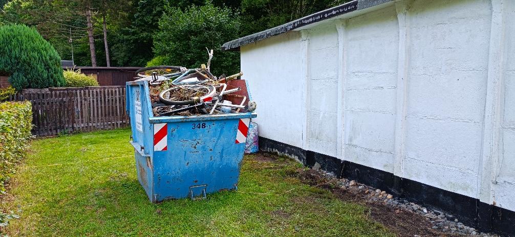 Metall-Schrott-Container 27.07.21 bis 02.08.21