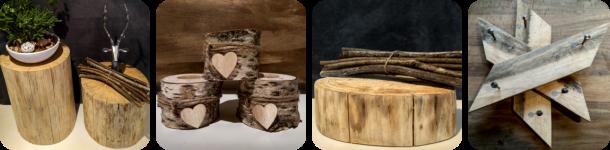 Holzdeko, Unikate Holz, Garderobe rustikal
