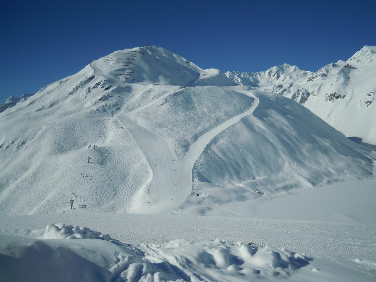 Skigebiet Rifflsee  - Grubenkopf