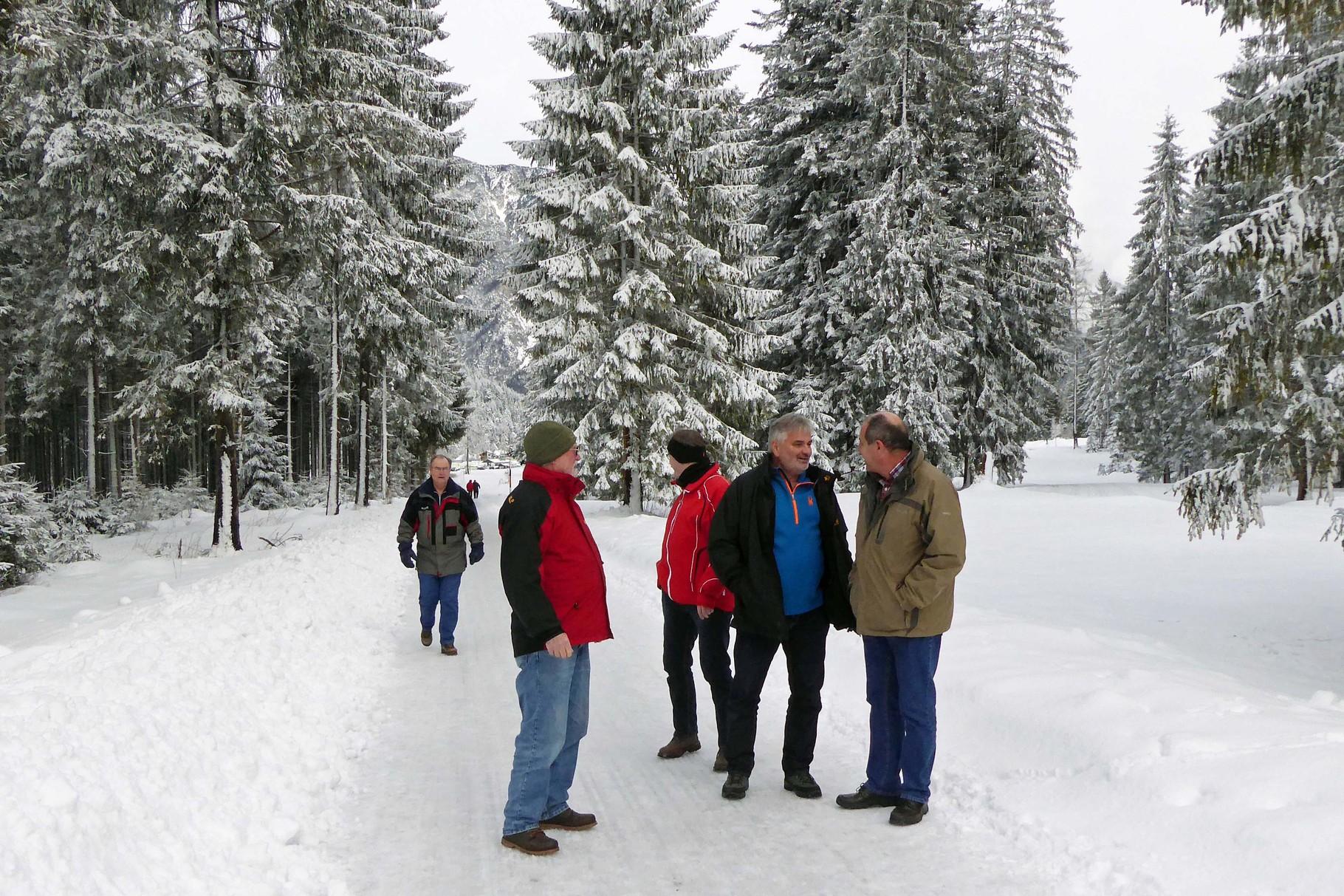 Auf dem Weg zum Gasthof Falzthurn