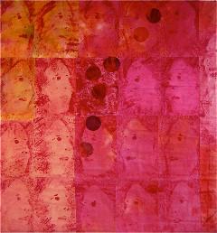 """""""Rot oder hitzig"""", 114 x 110 cm"""