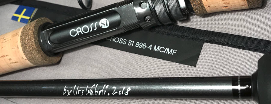 "Loop Cross S1 #8 9,6"" - custom made"