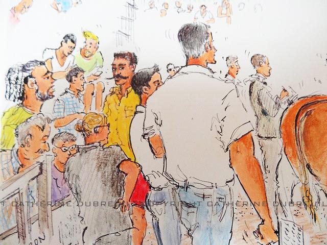 Les éleveurs dessin de Catherine Dubreuil
