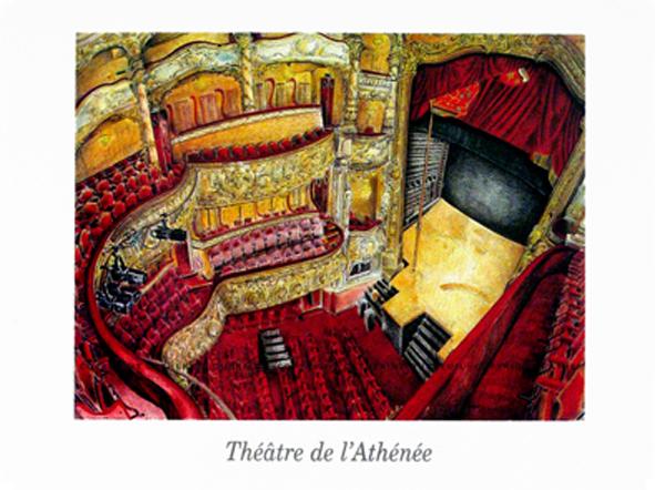 Théâtre de L'Athénée copyright Catherine Dubreuil