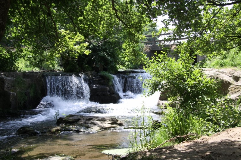 cascate di Monte Gelato