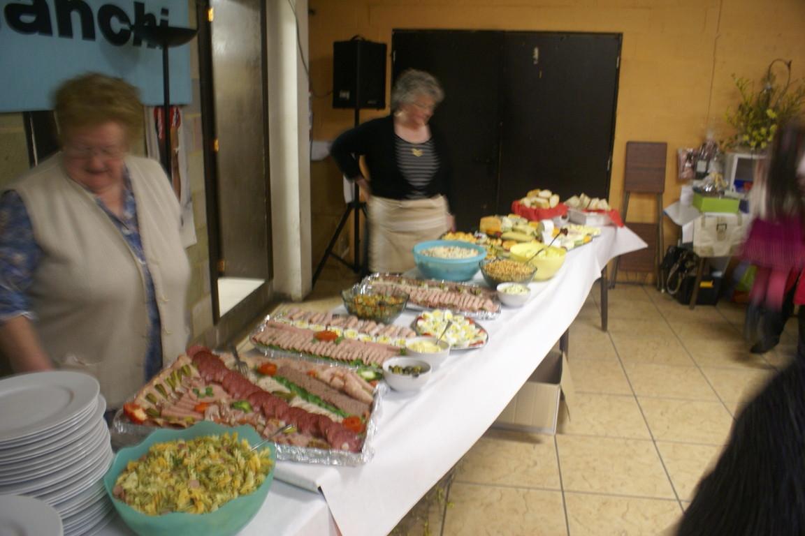 Un buffet bien allèchant
